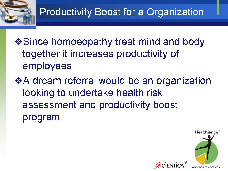 Productivity Boost for an Organization